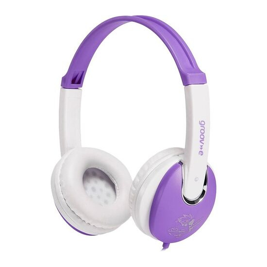 Groov-e KIDZ GV-590-VW Kids Headphones - Violet & White