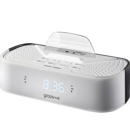 Groov-e Time Curve GV-SP406-WE FM Clock Radio - White Reviews