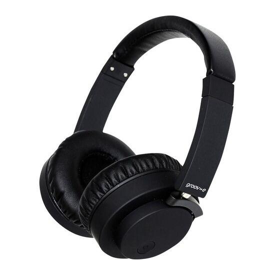 GROOV-E Fusion GV-BT400-BK Wireless Bluetooth Headphones - Black