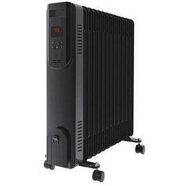 electriQ 2.5kw Smart WiFi Alexa Oil Filled Radiator 11 Fin  24 hour and Weekly Timer with Thermostat and Remote - Black Reviews