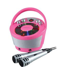 Groov-e GV-PS923-PK Portable Bluetooth Karaoke Boombox - Pink Reviews