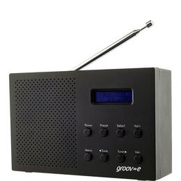 Groov-e Paris GV-DR03-BK Portable Radio - Black Reviews