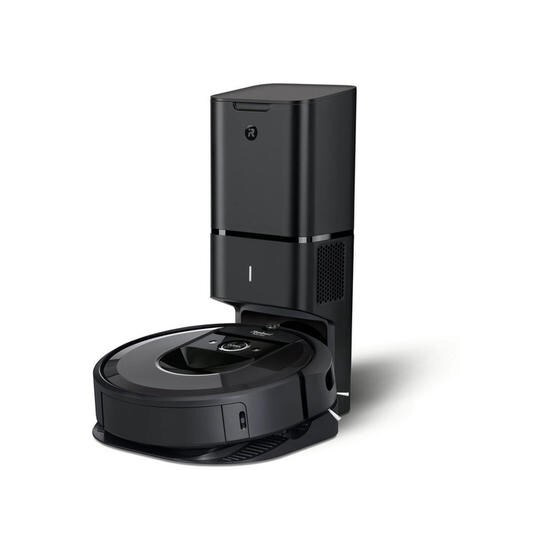 iRobot Roombai7550+ i7+ Wi-Fi Connected Robot Vacuum Cleaner With Automatic Dirt Disposal