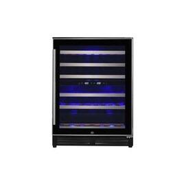 electriQ 60cm Slim Steel Door Frame Full Temperature Range Wine Cooler Reviews