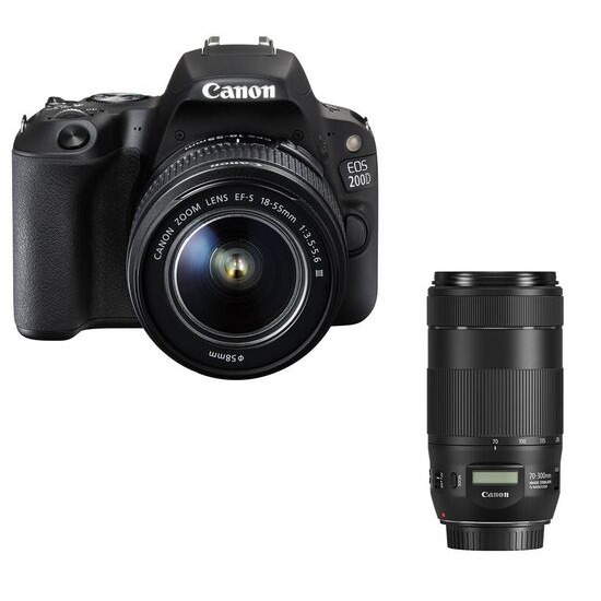 CANON EOS 200D DSLR Camera with 18-55 mm f/3.5-5.6 Lens
