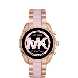 Michael Kors Access Bradshaw 2 MKT5090 Smartwatch - 44 mm, Rose Gold & Acetate Reviews