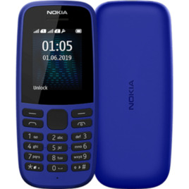 Nokia 105 4th Edition - 4 MB, Blue Reviews