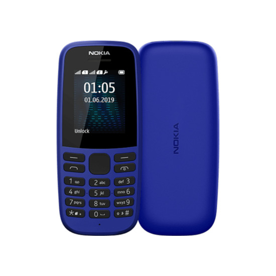 Nokia 105 4th Edition - 4 MB, Blue