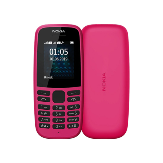 Nokia 105 4th Edition - 4 MB, Pink