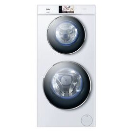 Haier Duo HWD120-B1558U WiFi-enabled 12 kg Washer Dryer - White Reviews