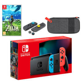 Nintendo Switch (Neon Blue/Neon Red) The Legend of Zelda: Breath of the Wild Pack Reviews