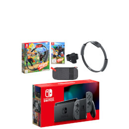 Nintendo Switch Grey Ring Fit Adventure Pack Reviews