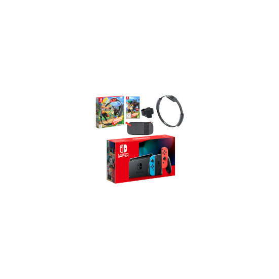 Nintendo Switch Neon Blue/Neon Red Ring Fit Adventure Pack
