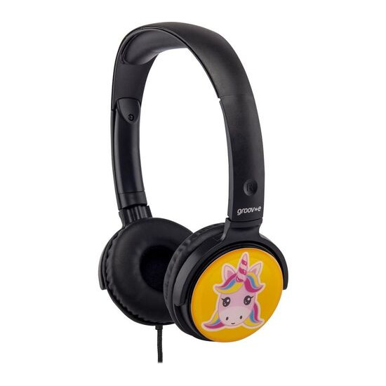Groov-e EarMOJI's GV-EMJ17 Kids Headphones - Unicorn