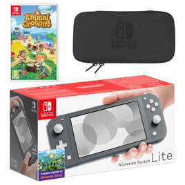Nintendo Switch Lite (Grey) Animal Crossing: New Horizons Pack Reviews