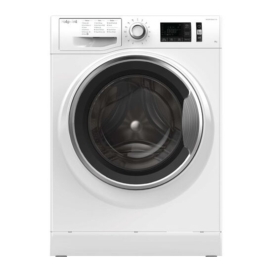 HOTPOINT Active Care NM11 845 AC 8 kg 1400 Spin Washing Machine - White