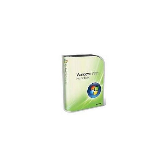 Windows Vista Home Basic 64 Bit  DVD English 1pack