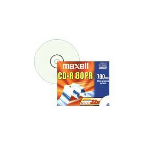 Photo of Maxell 624875 CD R