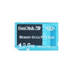 Photo of SANDISK 2GB Memory Stick Pro Duo Gaming Memory Card