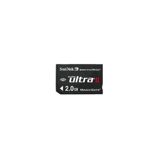 ULTRA II MEMORYSTICK PRO DUO 2GB