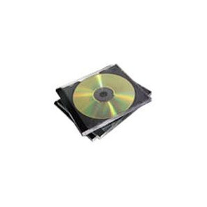Photo of Fellowes Single Capacity CD Jewel Cases - 10PK CD and DVD Storage