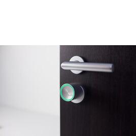 Bold SX-33 Cylinder Keyless Smart Door Lock in Silver Reviews