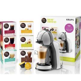 Dolce Gusto by Krups Mini Me KP123B41 Coffee Machine Starter Kit - Grey & Black Reviews