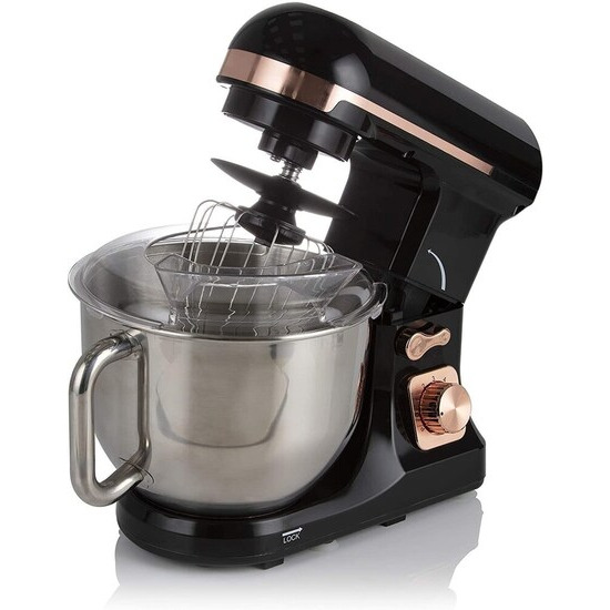 Tower 1000W Black & Rose Gold Stand Mixer (T12033RG)