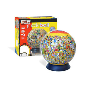 Photo of Simpsons Puzzleball - 240 Piece Toy