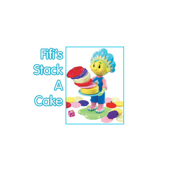 Fifi and the Flowertots Stack A Cake Game