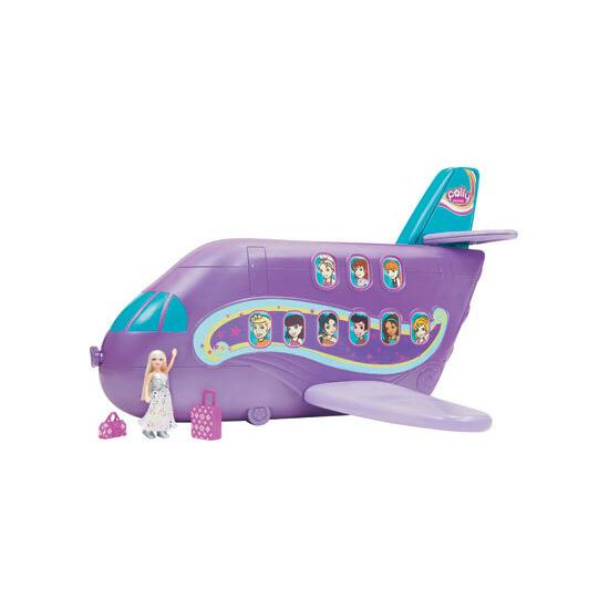 Polly Tastic Jumbo Jet Playset