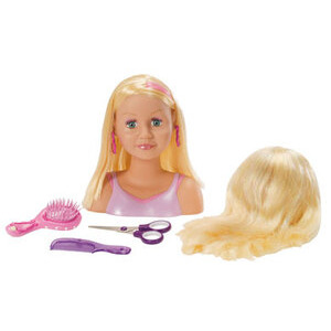 Photo of My Model Professional Magic Hair Styling Head Blonde Toy