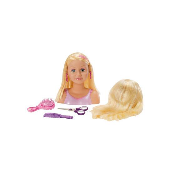 My Model Professional Magic Hair Styling Head Blonde