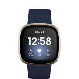 Fitbit Versa 3 - Midnight & Soft Gold Reviews