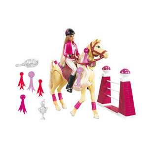 Photo of Jumping Tawny & Barbie Toy
