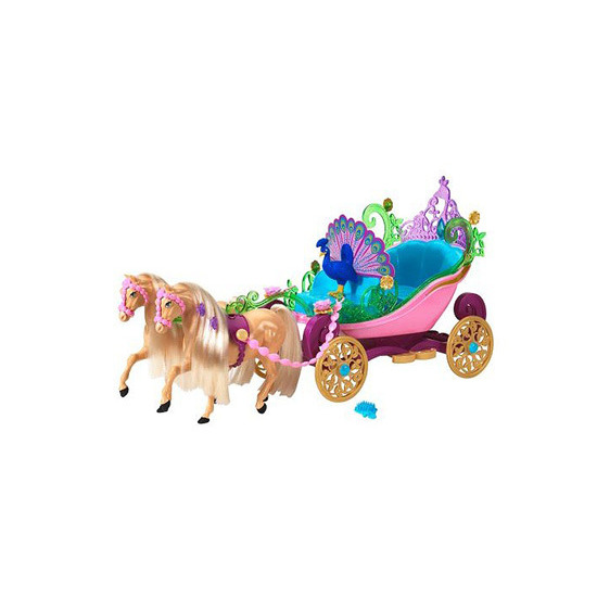Barbie Island Princess - Horse & Carriage