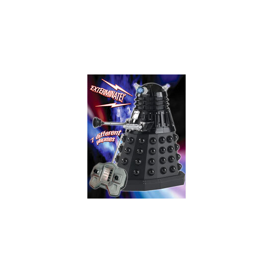 Doctor Who -  Radio Control Black Dalek