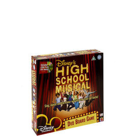 High School Musical DVD Board Game Reviews