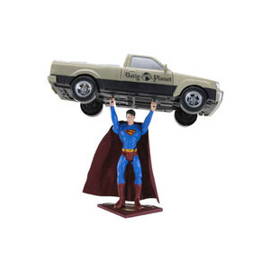 Photo of Superman Returns - Truck Lifting Superman Toy
