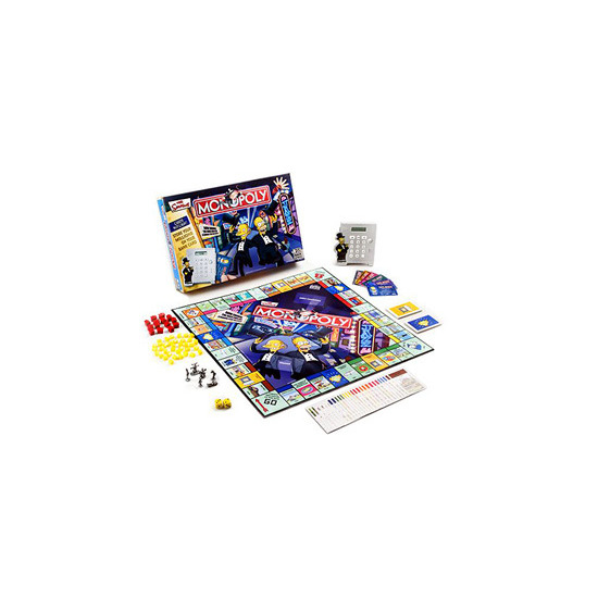 The Simpsons Monopoly Electronic Banking Edition