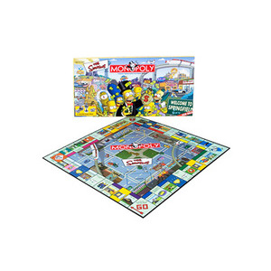 Photo of The Simpsons Monopoly Toy