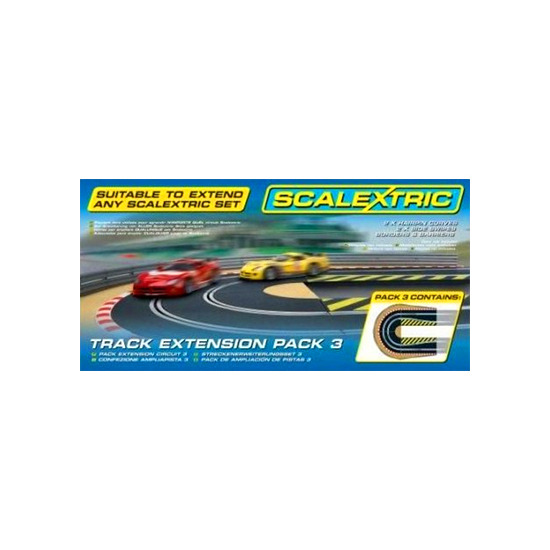 Scalextric - Track Extension Pack 3