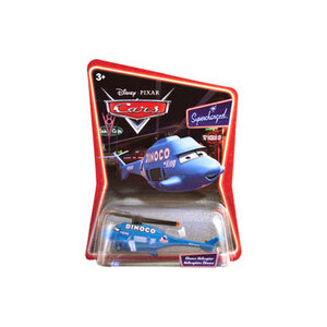 Photo of Disney Pixar Cars - Diecast - Dinoco Helicopter Toy