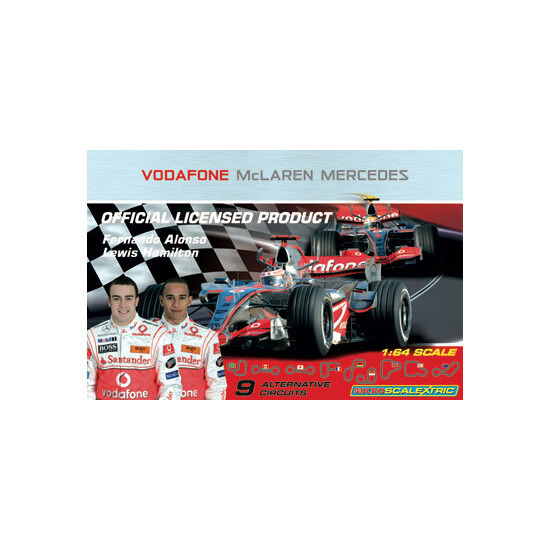 Micro Scalextric McLaren Set