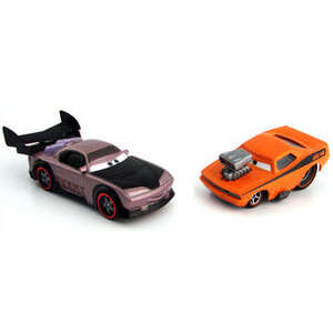 Photo of Disney Pixar Cars - Diecast Movie Moments - Boost & Snot Rod Toy