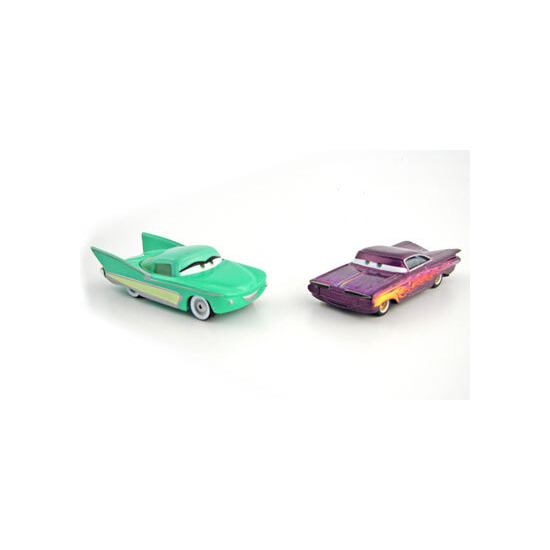Disney Pixar Cars - Diecast Movie Moments - Flo & Ramone