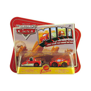 Photo of Disney Pixar Cars Mini Adventures - Hudson Hornet & Lightning MCQUEEN Toy