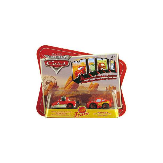 Disney Pixar Cars Mini Adventures - Hudson Hornet & Lightning McQueen
