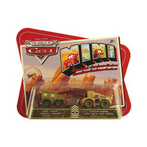 Photo of Disney Pixar Cars Mini Adventures - Sarge & Lightning MCQUEEN Toy