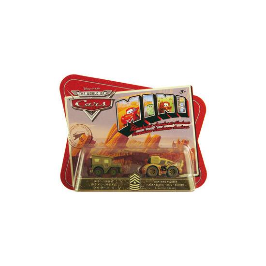 Disney Pixar Cars Mini Adventures - Sarge & Lightning McQueen